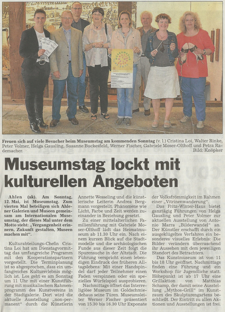 bericht museumstag 2013 AT